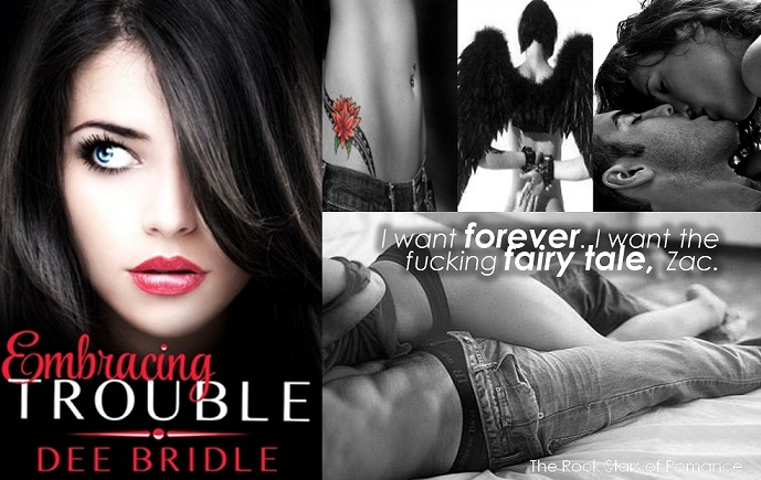 Embracing Trouble - The Rock Stars of Romance Spotlight